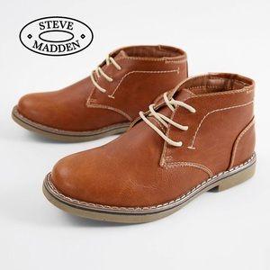 Steve Madden Boys' BChuka Chukka Boots, 5